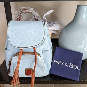 Dooney Bourke leather Small Murphy Backpack NWT